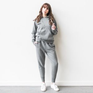 Brunette The Label Middle Sister Grey Hoodie S/M